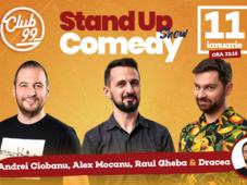 Stand up comedy cu Andrei Ciobanu, Raul Gheba, Alex Mocanu - Dracea in deschidere