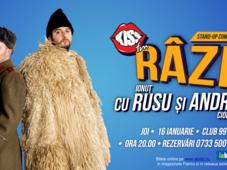 Stand up comedy cu Andrei Ciobanu si Ionut Rusu, in deschidere Madalin Cârje