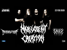 Brasov: Concert Malevolent Creation / Domination INC. / Sphinx