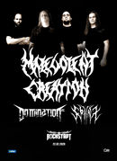Concert Malevolent Creation / Domination INC. / Sphinx