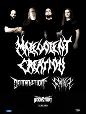 Concert Malevolent Creation / Domination INC. / Sphinx