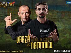 Copenhaga: Stand-up comedy Varza & Natanticu