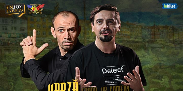 Herning: Stand-up comedy: Varza & Natanticu
