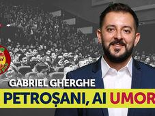 Petrosani, ai umor? Stand Up Comedy Show cu Gabriel Gherghe