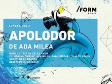 Apolodor | de Ada Milea at /FORM Space