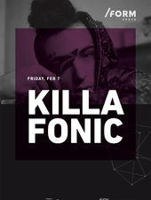 Killa Fonic at /FORM Space