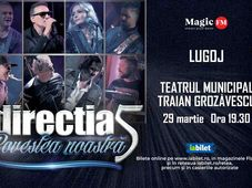 Lugoj: Concert Directia 5 - Povestea Noastra