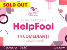 The Fool: Stand-up comedy Caritabil - Be #HelpFool pentru Andreea!
