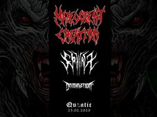 Malevolent Creation [USA] / Domination Inc. [GR] / Sphinx [UK]