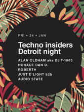 Techno Insiders Detroit Night