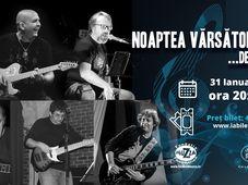 Concert: Noaptea Vărsătorilor de blues
