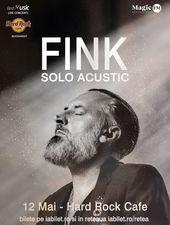 Concert FINK la Hard Rock Cafe