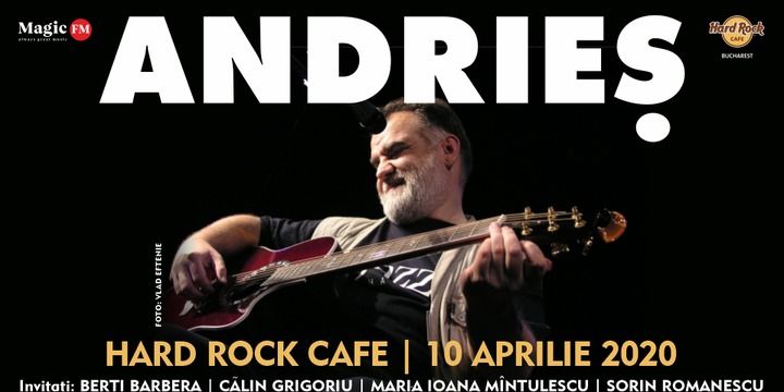 Andries revine la Hard Rock Cafe