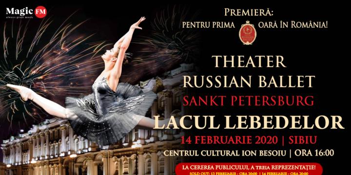 Sibiu: Theatre Russian Ballet - Sankt Petersburg - Lacul Lebedelor 3