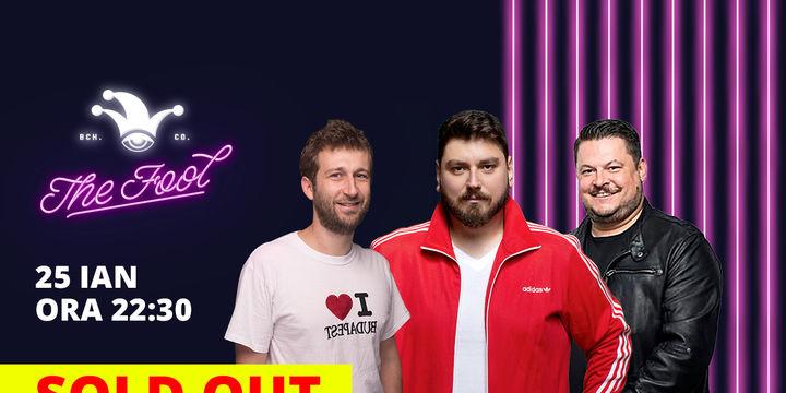 SOLD OUT Stand-up comedy cu Micutzu, Bobonete și Radu Isac