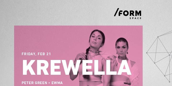 Krewella at /FORM Space