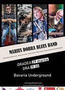 Oradea: Concert Marius Dobra Blues Band