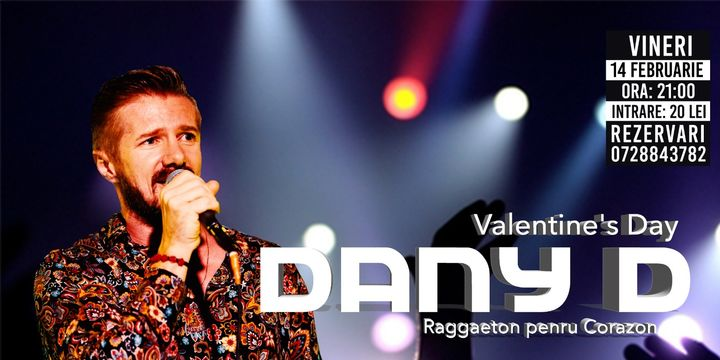 Raggaeton pentru corazon- DANY D - Concert la The PUB Universității
