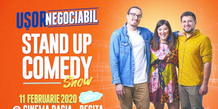 Reșița: Stand up comedy cu Banciu, Maria Popovici si Mincu ''Ușor negociabil''