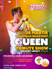 Bohemian Rhapsody > QUEEN Tribute Show by Merqury Legacy