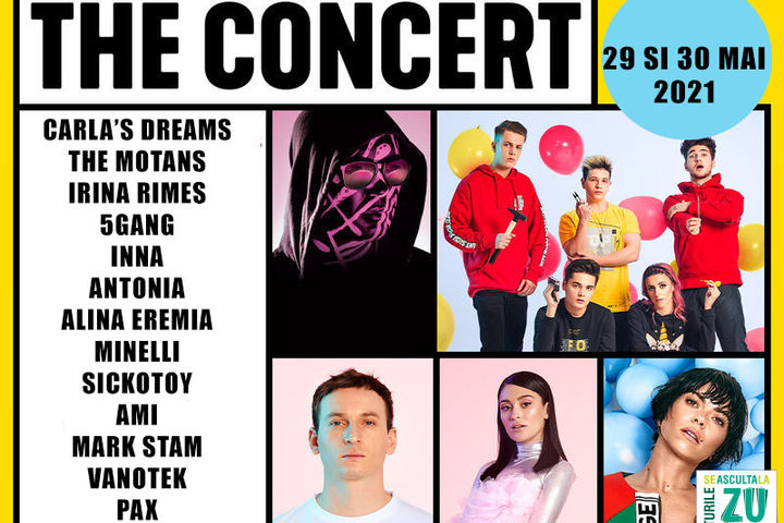 5 GANG / The Concert / Bilet de o zi