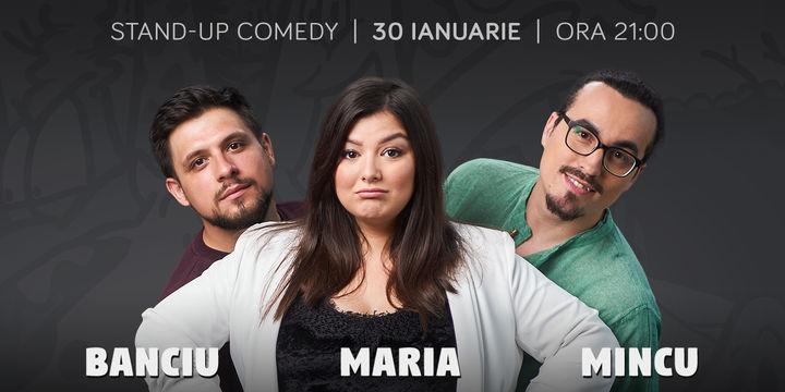 Maria, Mincu și Banciu la ComicsClub!