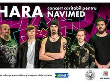 Hara in concert caritabil pentru Navimed!