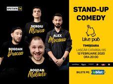 Timisoara: Stand Up 4 Stand Up cu Mocanu, Mălăele, Mirică, Drăcea