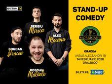 Oradea: Stand Up 4 Stand Up cu Mocanu, Mălăele, Mirică, Drăcea