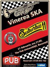 Vinerea SKA la The Pub: Concert Suburbia11 și Recycle Bin