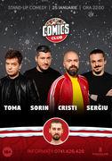 Stand-up cu Cristi, Toma, Sergiu si Sorin la ComicsClub 2