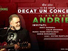 Alexandru Andries  – Decât un concert la Quantic