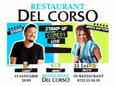 Stand up comedy show Anisia Gafton si Florin Serghei