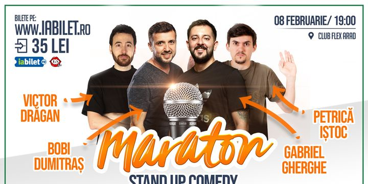 Maraton Stand Up Comedy X4