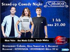 Stand Up Comedy cu Mane Voicu, Ana Maria Calita & Sergiu Mirica