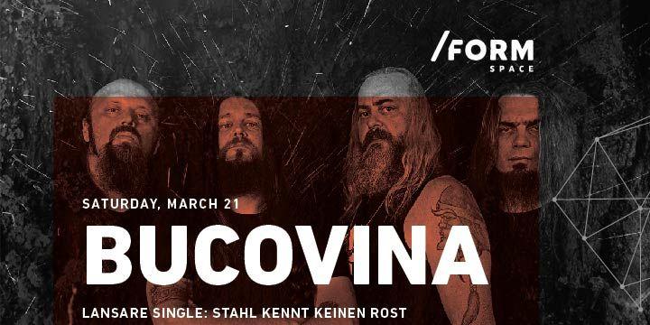 Bucovina | Lansare Single at /FORM Space