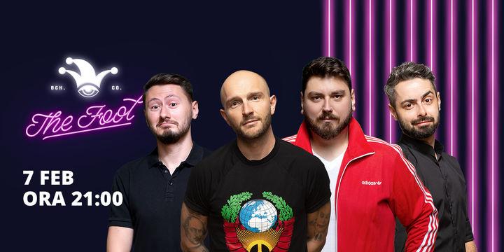 The Fool: Stand-up comedy cu Bordea, Micutzu, Bucălae și Claudiu