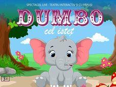 ,,Dumbo cel isteț'' la Ateneu Tecuci