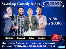 Stand Up Comedy cu Anisia Gafton, Serghei, Tiberiu Popovici & Cristian Dumitru