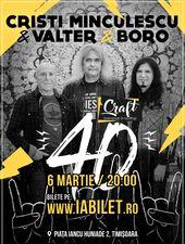 Timisoara: Cristi Minculescu, Valter& Boro - Turneu Indoor 40