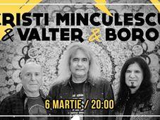 Cristi Minculescu, Valter& Boro - Turneu Indoor 40