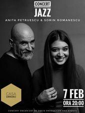 Concert jazz cu Anita si Sorin