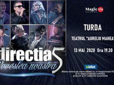 Turda: Concert Directia 5 - Povestea Noastra
