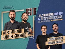 Stand Up Comedy cu  Alex Mocanu, Gabriel Gherghe, Sergiu Mirica & Bogdan Dracea