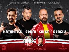 Stand-up cu Natanticu, Cristi, Sergiu și Sorin la ComicsClub