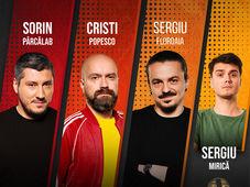 Bistrita: Stand Up Comedy cu  Sorin Pârcălab, Sergiu Floroaia, Cristi Popesco & Mirică