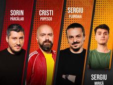 Baia Mare: Stand Up Comedy cu  Sorin Pârcălab, Sergiu Floroaia, Cristi Popesco & Mirică