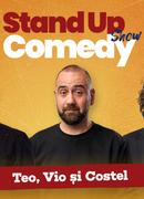 Stand up comedy cu  Teo, Vio si Costel