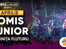 Tomis Junior & Doinița Fluturu // 3 aprilie // Berăria H