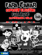 Iasi: FARA ZAHAR Concert full band
